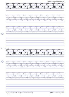 pisanie liter po śladzie - Szukaj w Google