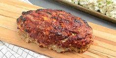 Meatloaf, Carne, Banana Bread, Bacon, Pork, Low Carb, Desserts, Charlotte, Kale Stir Fry