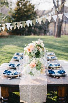 Gorgeous wedding table.