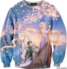 Tangled Sweatshirt. I would never take this off...