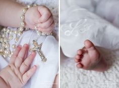 christening photo idea