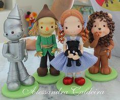 Peças de decoração em biscuit Mágico de OZ! | Flickr - Photo Sharing!