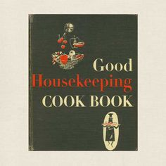 Good Housekeeping Cookbook - 1955 Vintage at CookbookVillage.com.  I bought this cookbook on a friend's recommendation and really love the baking recipes.  Make sure to get the 1955 edition, because later editions have revisions that were not all that helpful.