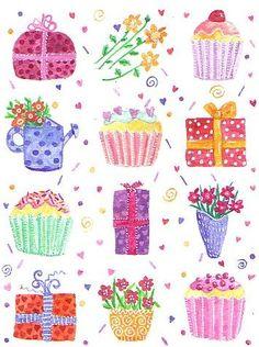 sweet things by harryillustration, via Flickr