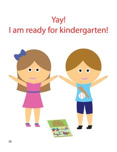 We are ready for kindergarten! Kindergarten Books, I Am Ready, Family Guy, Fictional Characters, Fantasy Characters, Griffins