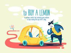 To buy a lemon - an idiom for today! by Blu Blu Studios