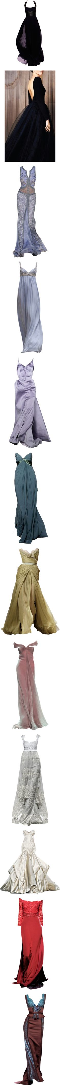 """""""long dresses 3"""" by lindacsanfelice on Polyvore"""