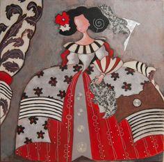 Menina 7 Serie Diciembre 2015 Marie Claire, Paper Dolls, Disney Characters, Fictional Characters, Snow White, Disney Princess, Canvas, Ideas, Scrappy Quilts