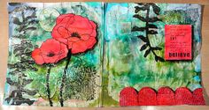 MvM-Scrapdesigns: Poppy AJ-page with Art Anthology. With video tut.
