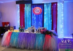 wedding decorations of the hall