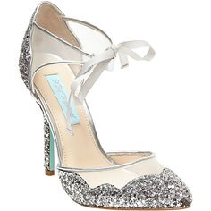 Betsey Johnson SB-Stela Pumps (220 BRL) ❤ liked on Polyvore featuring shoes, pumps, heels, betsey johnson, silver, heel pump, betsey johnson shoes, blue heeled shoes, heels stilettos and betsey johnson pumps