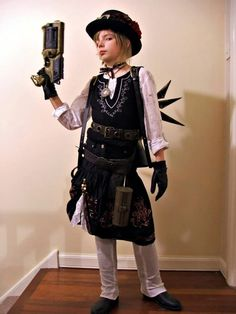 Awesome steampunk child cosplay and how to! - 12 Steampunk Kid Designs