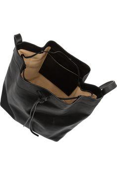 Iris & InkBrixton leather bucket bagclose up