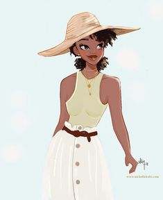 Tina * is a Leo girl . In this Leo season she is Very tired girl and busy girl but always smiling girl . And try to see the positive in… Black Love Art, Black Girl Art, My Black Is Beautiful, Black Girl Magic, Black Girls, Mode Poster, Black Girl Cartoon, Leo Girl, Black Art Pictures