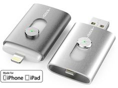 iStick™: USB Flash Drive with Lightning for iPhone and iPad by HYPER by Sanho Corporation — Kickstarter