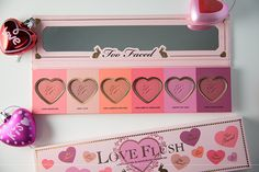 Too Faced Love Flush Blush Wardrobe – Review