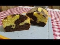 Cake marbré chocolat citron facile