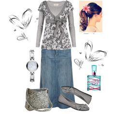 A fashion look from September 2013 featuring AllSaints tops, MOTHER DENIM skirts and DKNY watches. Browse and shop related looks.