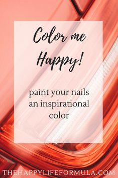 Need something small to make your life a little happier? Try painting your nails with a color that has an inspiring name! Self Development, Personal Development, Create Yourself, Improve Yourself, Welcome To The Group, Live Long, Stress Relief, Self Improvement, Happy Life