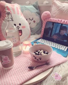 Pin by ethan chambers on kawaii aesthetic in 2019 Cute Room Decor, Korean Aesthetic, Pink Aesthetic, Aesthetic Photo, Aesthetic Quiz, Army Room Decor, Kawaii Bedroom, Gaming Room Setup, Gameroom Ideas