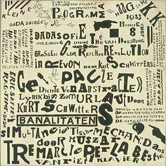 theo van doesburg kleine dada  soiree keywords: dada art graphic design typography invitation