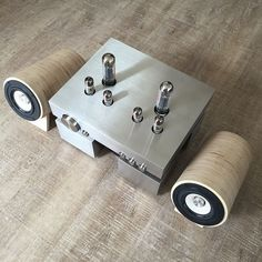 High quality wood speakers by well rounded sound