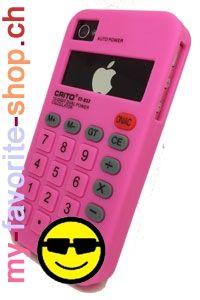Calculatrice – protection pour iPhone 4/4S    Protection en silicone pour iPhone 4/4s. Elle protège votre téléphone portable des rayures et des chocs. C'est l'accessoire indispensable et tendance.        Téléphone portable : iPhone 4/4s      Couleur : rose      Matière : silicone      Livraison : gratuite (Suisse, Liechtenstein)    http://my-favorite-shop.ch/mikado/produit/arc-sinus-hosse-iphone-44s/