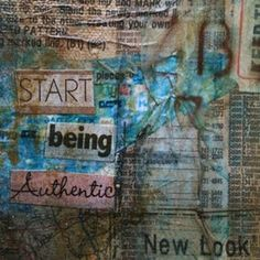 start being authentic.... it's never too late.