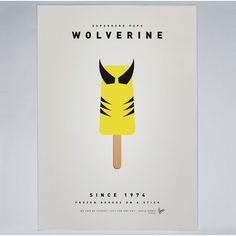 Chungkong - My Superhero Ice Pop - Wolverine - Print