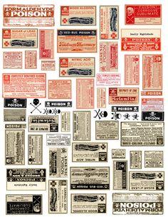 poison labels