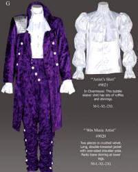 How to make your own prince purple rain jacket rain costume prince purple rain outfit solutioingenieria Images