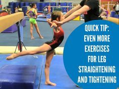 Hi All, Today I wanted to do a quick tip on even more things you can do for leg straightening and tightening. This type of drilling can often seem mundane or Gymnastics At Home, Gymnastics Academy, Gymnastics Tricks, Gymnastics Skills, Gymnastics Coaching, Gymnastics Training, Gymnastics Workout, Olympic Gymnastics, Preschool Gymnastics