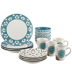Camping & Hiking Lgfm-15 Piece Miniature Dollhouse Dinnerware Porcelain Tea Set Tableware Mug Plate With Floral Pattern