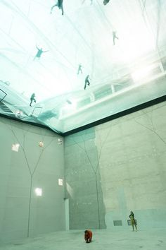 1 | Floating Plastic Membranes Invite You To Walk On Air | Co.Design: business + innovation + design