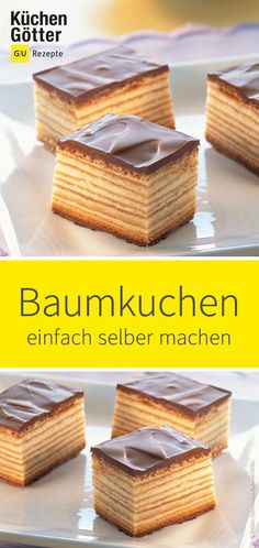 Baumkuchen homemadesweets layer by layer: just insert the Baumkuchen .Baumkuchen homemadesweets layer by layer: Simply insert the Baumkuchen . - Baumkuchen homemadesweets layer by layer: Baumkuchen You can easily do it yourself. Dairy Free Chocolate Cake, Chocolate Mousse Cake, Cake Recipes, Dessert Recipes, Paleo Dessert, Best Pancake Recipe, Tree Cakes, Homemade Sweets, Sweet Bakery