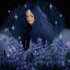 Digital Watercolour Illustration portrait of a girl Watercolour Illustration, Watercolor, Mona Lisa, The 100, Lavender, Portrait, Digital, Artwork, Instagram