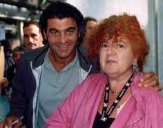 Paola Meneghetti con Alberto Tomba
