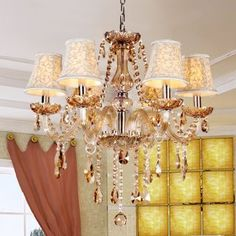 Gorgeous Modern Crystal Chandeliers Ceiling Fixtures Lamps Lighting Lights 9075