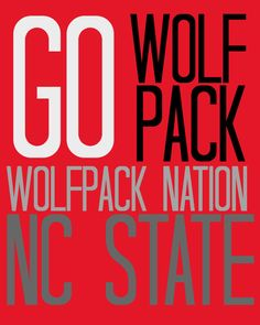 NC STATE WolfPack 8x10 Digital File