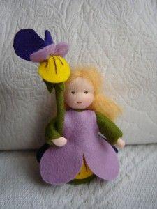 seizoenstafelpopje viooltje