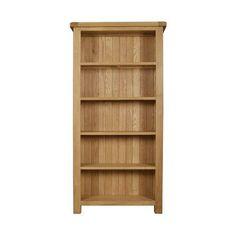 Chichester Oak Large Bookcase | Dunelm