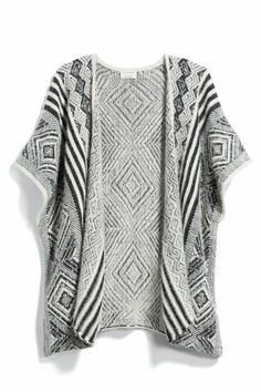 Stitch Fix winter kimono? {SL: I think I saw this in my style quiz and it looked interesting. Not sure if it would be too flowy for my taste, but definitely willing to try it!}
