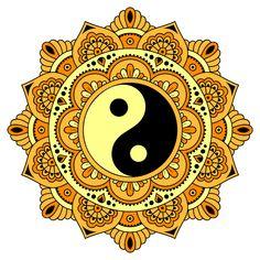 My Coloring Book Mandala Art, Mandala Pattern, Zentangle Patterns, Mandala Design, Ying Y Yang, Yin Yang Art, Madhubani Art, Madhubani Painting, Coloring Apps