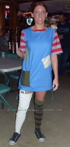 Coolest Homemade Adult Pippy Longstocking Costume... This website is the Pinterest of costumes
