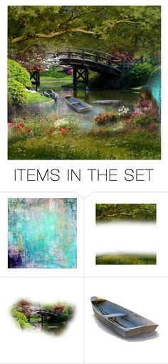 """""""garden"""" by lazer-blade ❤ liked on Polyvore featuring art"""