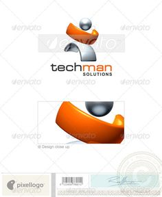 Technology  Logo Design Template Vector #logotype Download it here: http://graphicriver.net/item/technology-logo-3d386/497409?s_rank=1674?ref=nexion