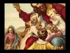 """Para amá, Jesus Cristo como deves, precisas conhecê-Lo. Nas aulas de catecismo conhecer Jesus Cristo e todas as coisas lindas e santas que a Doutrina Católica ensina.  - Disse jesus ! - """"Deixai vir a mim as criancinhas"""". - Mateus, 19, 14"""
