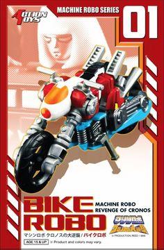 Machine Robo - MR-01 - Bike Modeby Action Toys #transformer