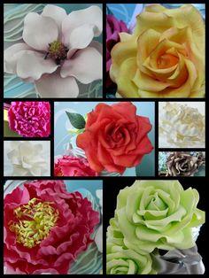 receta de pasta de goma para las flores de azúcar Inspirado por los diseños de Michelle Cake: