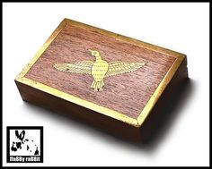 Inlaid Brass Bird Wooden Box Indian Wooden Box with Brass   Etsy Butterfly Nursery, Butterfly Wall Decor, White Butterfly, Vintage Butterfly, Vintage Birds, Vintage Pink, Playing Card Box, Elephant Necklace, Round Bar